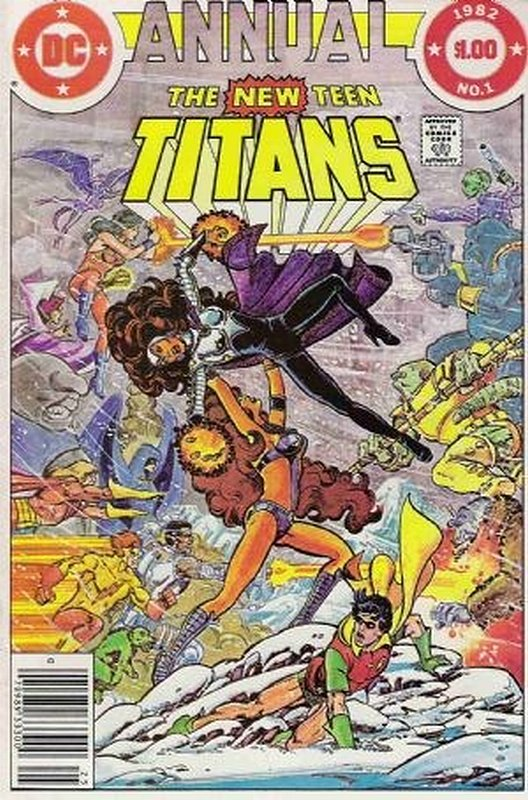 Cover of New Teen Titans Annual (Vol 1) #1. One of 250,000 Vintage American Comics on sale from Krypton!