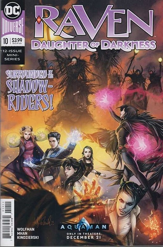 Cover of Raven Daughter of Darkness (2017 Ltd) #10. One of 250,000 Vintage American Comics on sale from Krypton!