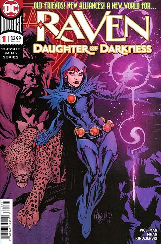 Cover of Raven Daughter of Darkness (2017 Ltd) #1. One of 250,000 Vintage American Comics on sale from Krypton!