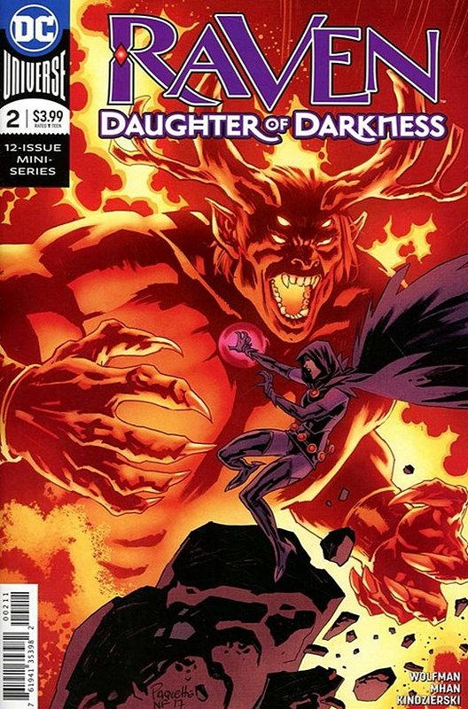 Cover of Raven Daughter of Darkness (2017 Ltd) #2. One of 250,000 Vintage American Comics on sale from Krypton!