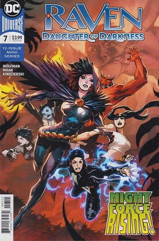 Cover of Raven Daughter of Darkness (2017 Ltd) #7. One of 250,000 Vintage American Comics on sale from Krypton!