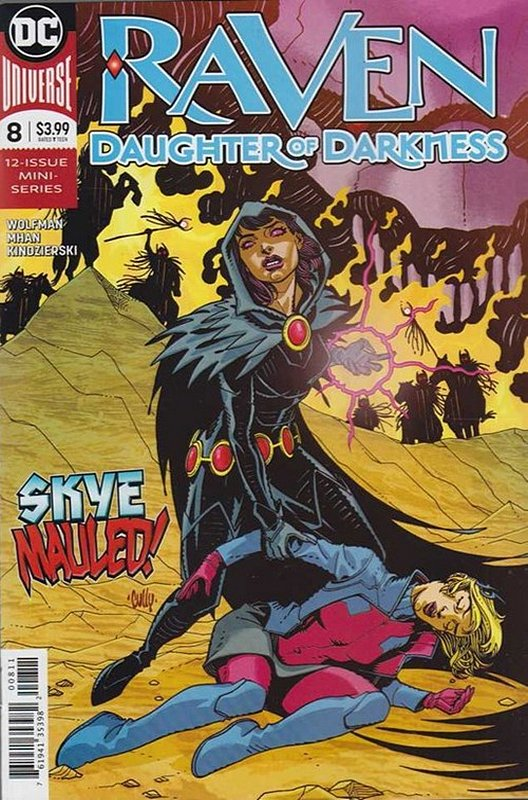 Cover of Raven Daughter of Darkness (2017 Ltd) #8. One of 250,000 Vintage American Comics on sale from Krypton!
