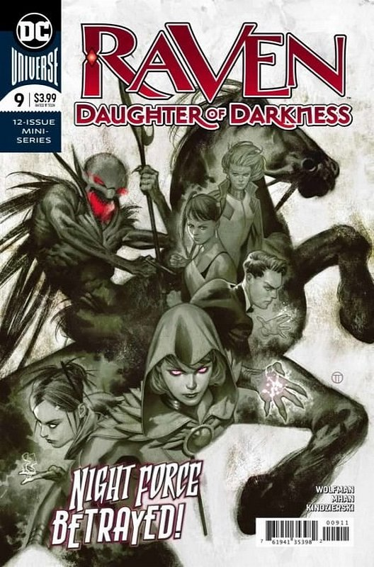 Cover of Raven Daughter of Darkness (2017 Ltd) #9. One of 250,000 Vintage American Comics on sale from Krypton!
