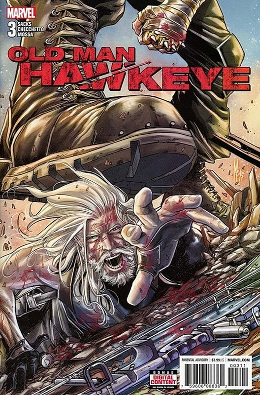 Cover of Old Man Hawkeye (2017 Ltd) #3. One of 250,000 Vintage American Comics on sale from Krypton!