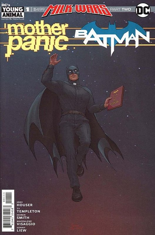 Cover of Mother Panic/Batman special (2018 One Shot) #1. One of 250,000 Vintage American Comics on sale from Krypton!