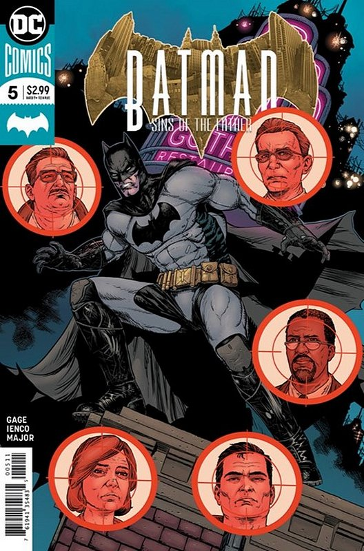 Cover of Batman: Sins of the Father (2018 Ltd) #5. One of 250,000 Vintage American Comics on sale from Krypton!