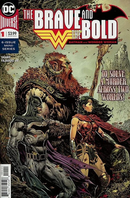 Cover of Brave & the Bold: Batman & Wonder Woman (2018 Ltd) #1. One of 250,000 Vintage American Comics on sale from Krypton!