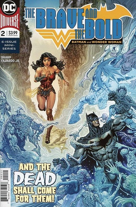Cover of Brave & the Bold: Batman & Wonder Woman (2018 Ltd) #2. One of 250,000 Vintage American Comics on sale from Krypton!