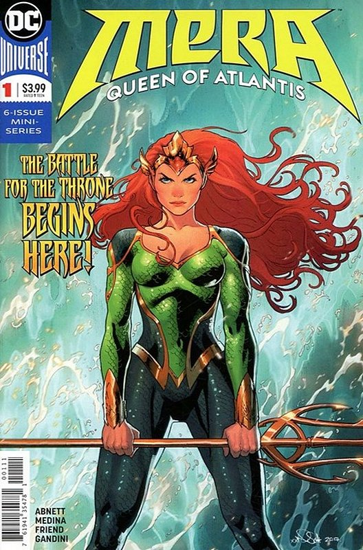 Cover of Mera Queen of Atlantis (2018 Ltd) #1. One of 250,000 Vintage American Comics on sale from Krypton!