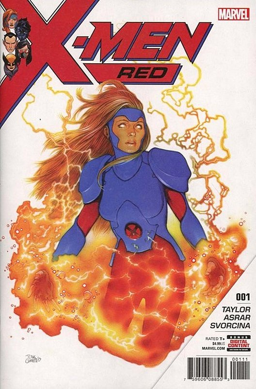 Cover of X-Men: Red (Vol 1) #1. One of 250,000 Vintage American Comics on sale from Krypton!