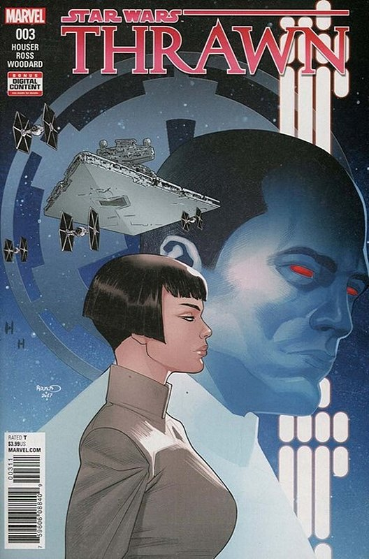 Cover of Star Wars: Thrawn (2018 Ltd) #3. One of 250,000 Vintage American Comics on sale from Krypton!