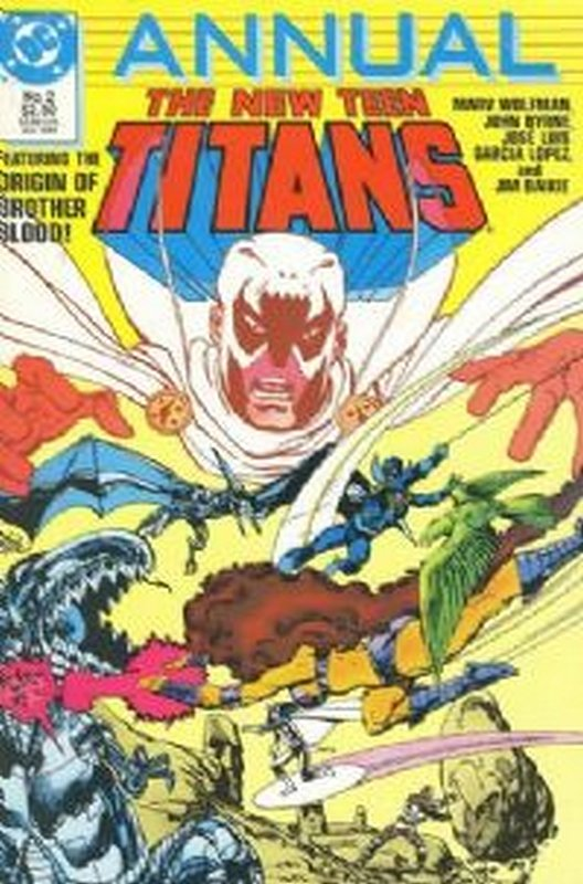 Cover of New Teen Titans Annual (Vol 2) #2. One of 250,000 Vintage American Comics on sale from Krypton!