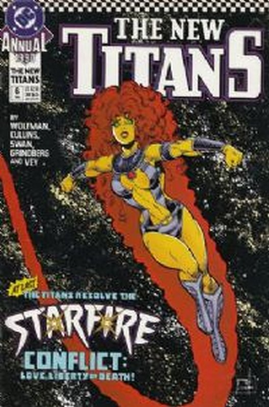 Cover of New Teen Titans Annual (Vol 2) #6. One of 250,000 Vintage American Comics on sale from Krypton!