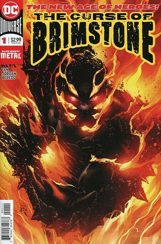 Cover of Curse of Brimstone (Vol 1) #1. One of 250,000 Vintage American Comics on sale from Krypton!