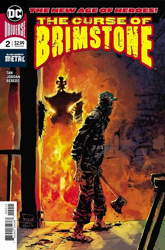 Cover of Curse of Brimstone (Vol 1) #2. One of 250,000 Vintage American Comics on sale from Krypton!