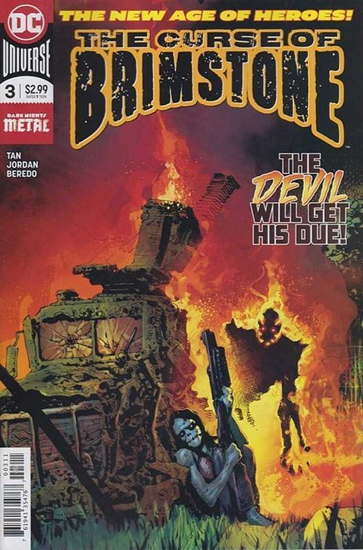 Cover of Curse of Brimstone (Vol 1) #3. One of 250,000 Vintage American Comics on sale from Krypton!