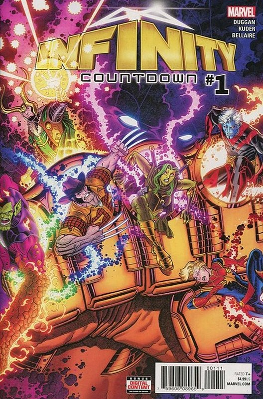 Cover of Infinity Countdown (2018 Ltd) #1. One of 250,000 Vintage American Comics on sale from Krypton!