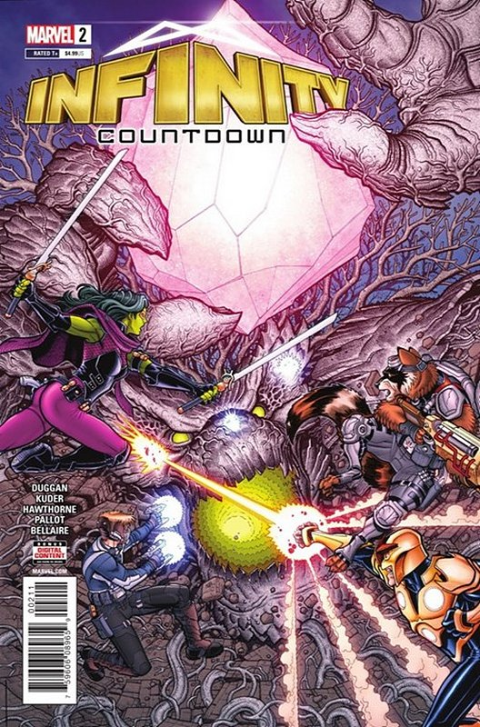 Cover of Infinity Countdown (2018 Ltd) #2. One of 250,000 Vintage American Comics on sale from Krypton!