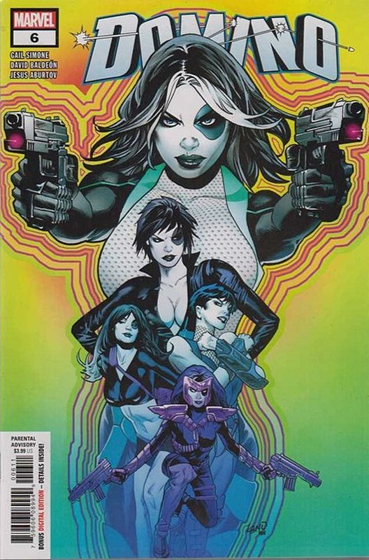 Cover of Domino (Vol 1) #6. One of 250,000 Vintage American Comics on sale from Krypton!