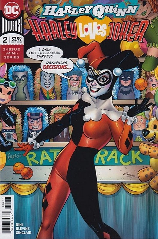Cover of Harley Quinn: Harley Loves Joker (2018 Ltd) #2. One of 250,000 Vintage American Comics on sale from Krypton!