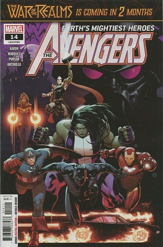Cover of Avengers (Vol 9) #14. One of 250,000 Vintage American Comics on sale from Krypton!
