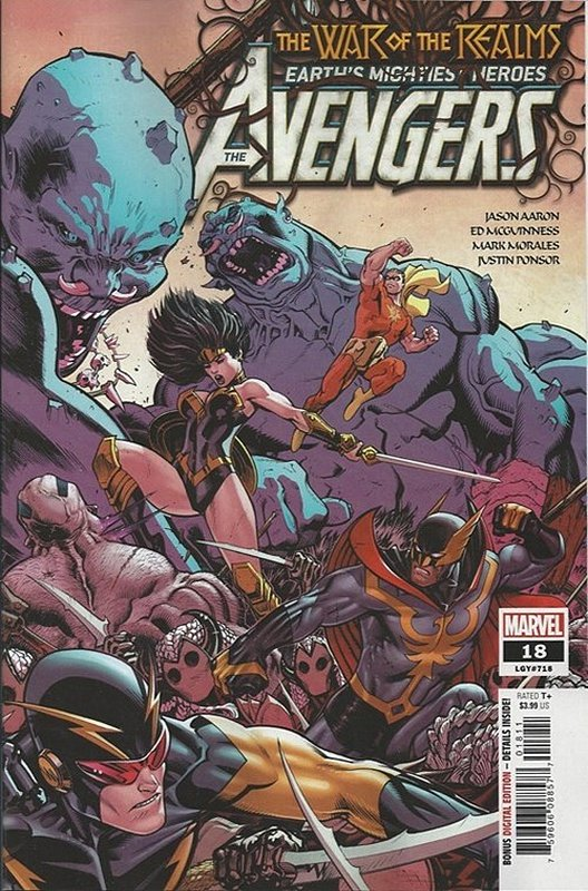 Cover of Avengers (Vol 9) #18. One of 250,000 Vintage American Comics on sale from Krypton!