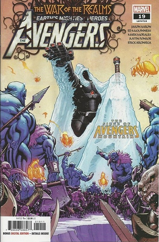 Cover of Avengers (Vol 9) #19. One of 250,000 Vintage American Comics on sale from Krypton!