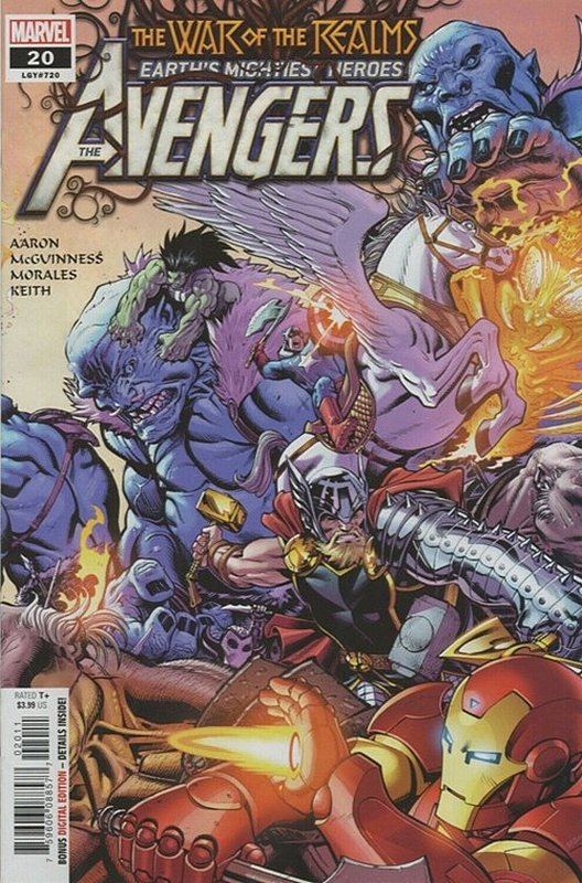 Cover of Avengers (Vol 9) #20. One of 250,000 Vintage American Comics on sale from Krypton!