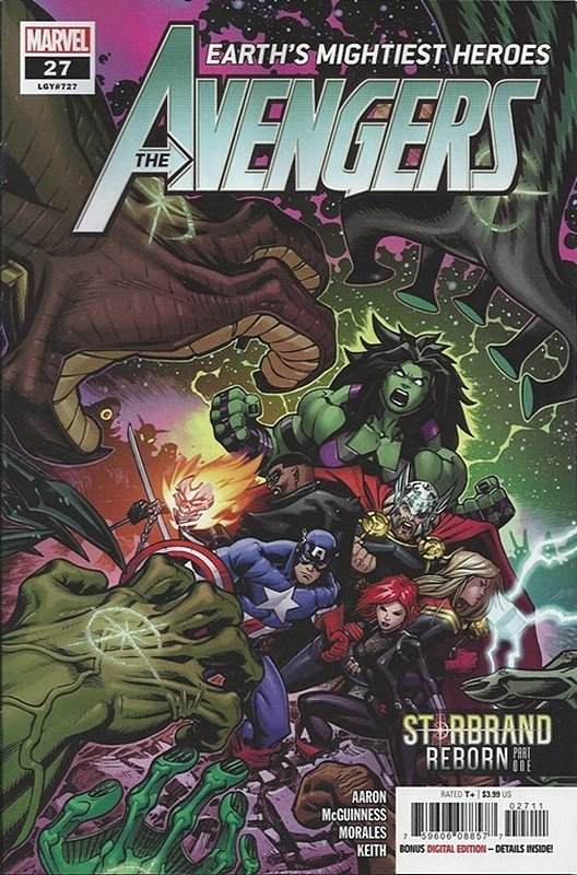Cover of Avengers (Vol 9) #27. One of 250,000 Vintage American Comics on sale from Krypton!