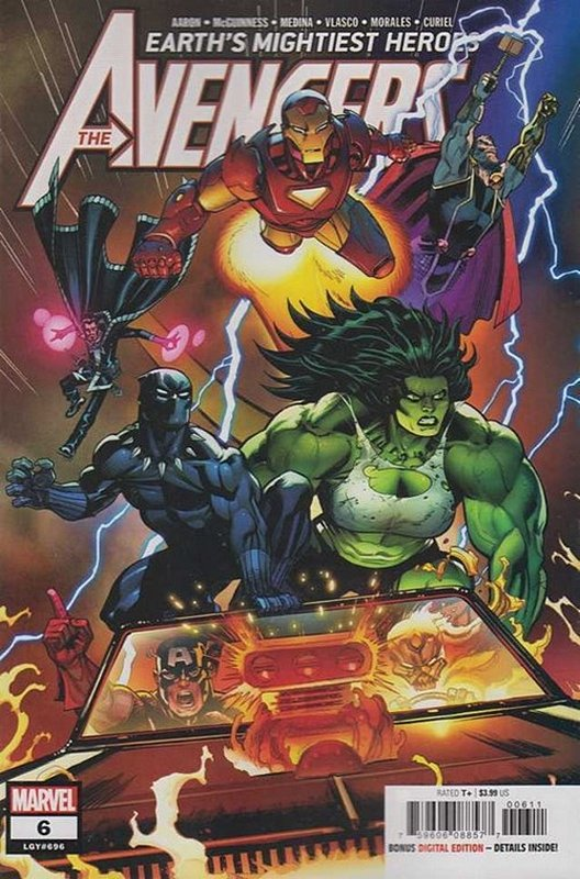 Cover of Avengers (Vol 9) #6. One of 250,000 Vintage American Comics on sale from Krypton!