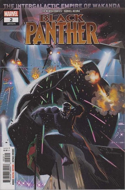 Cover of Black Panther (Vol 7) #2. One of 250,000 Vintage American Comics on sale from Krypton!