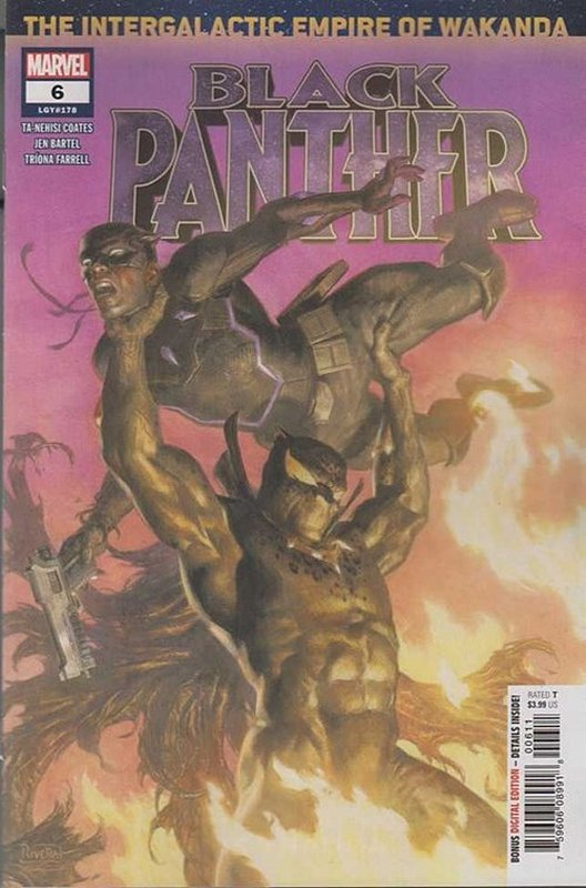 Cover of Black Panther (Vol 7) #6. One of 250,000 Vintage American Comics on sale from Krypton!