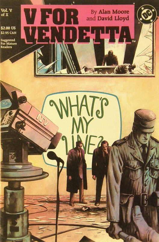 Cover of V for Vendetta (1988 Ltd) #5. One of 250,000 Vintage American Comics on sale from Krypton!