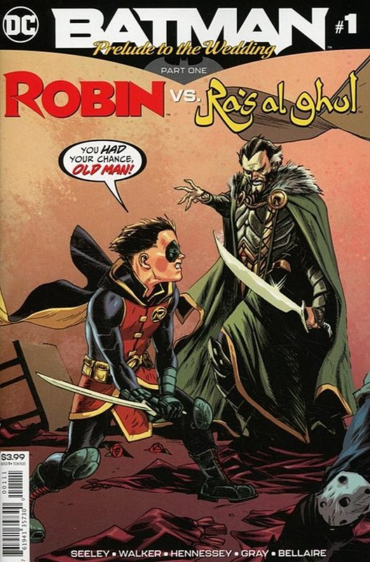 Cover of Batman: Wedding Prelude - Robin vs Ras Al Ghul #1. One of 250,000 Vintage American Comics on sale from Krypton!