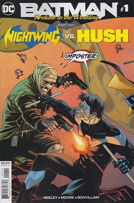 Cover of Batman: Wedding Prelude - Nightwing vs Hush #1. One of 250,000 Vintage American Comics on sale from Krypton!