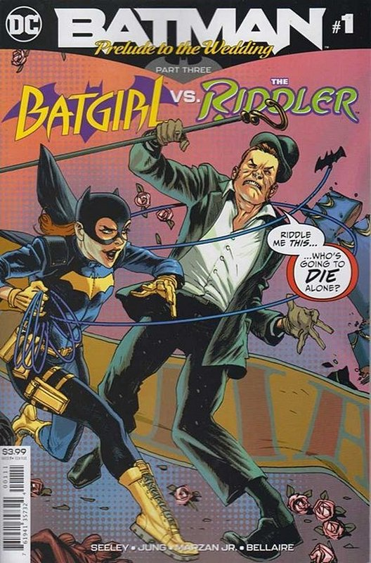 Cover of Batman: Wedding Prelude - Batgirl vs Riddler #1. One of 250,000 Vintage American Comics on sale from Krypton!