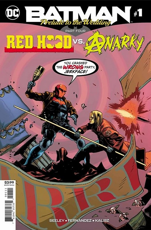 Cover of Batman: Wedding Prelude - Red Hood vs Anarky #1. One of 250,000 Vintage American Comics on sale from Krypton!