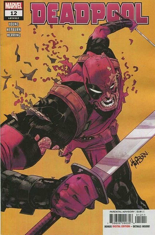 Cover of Deadpool (Vol 5) #12. One of 250,000 Vintage American Comics on sale from Krypton!