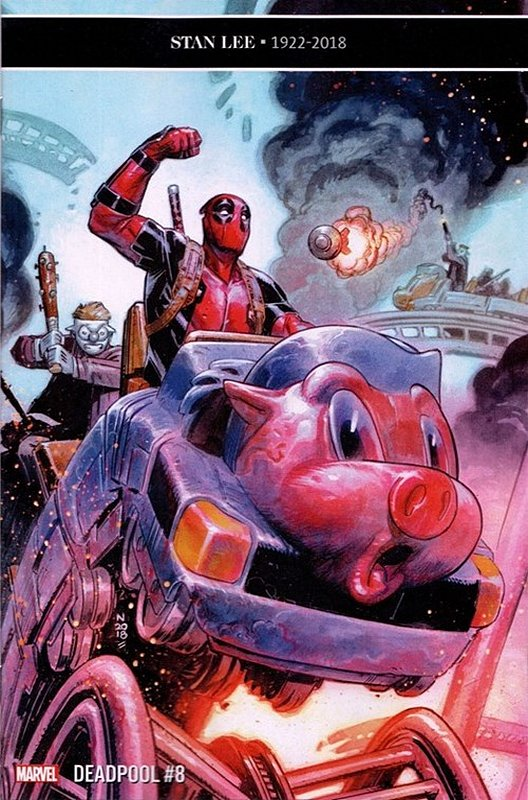 Cover of Deadpool (Vol 5) #8. One of 250,000 Vintage American Comics on sale from Krypton!
