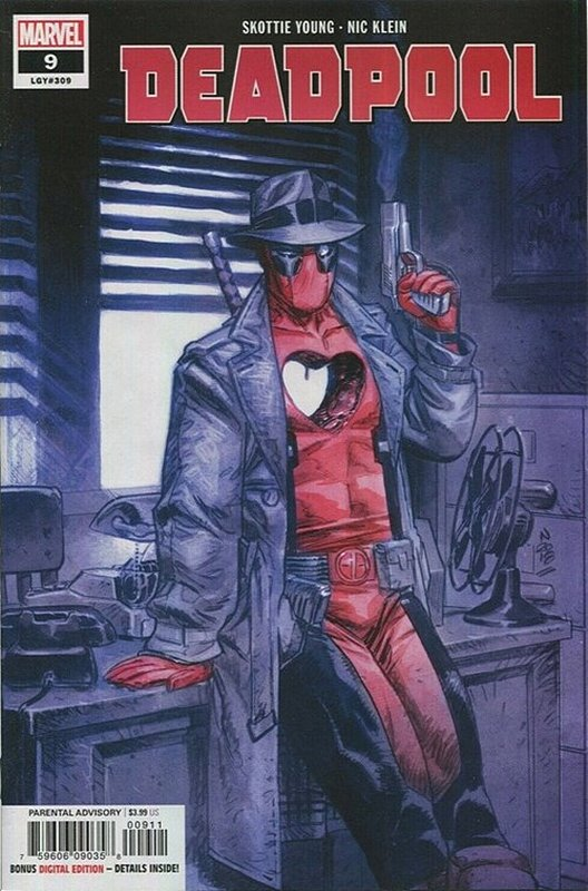Cover of Deadpool (Vol 5) #9. One of 250,000 Vintage American Comics on sale from Krypton!