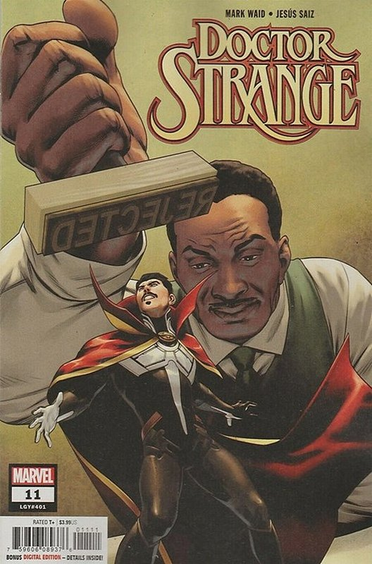 Cover of Doctor Strange (Vol 7) #11. One of 250,000 Vintage American Comics on sale from Krypton!