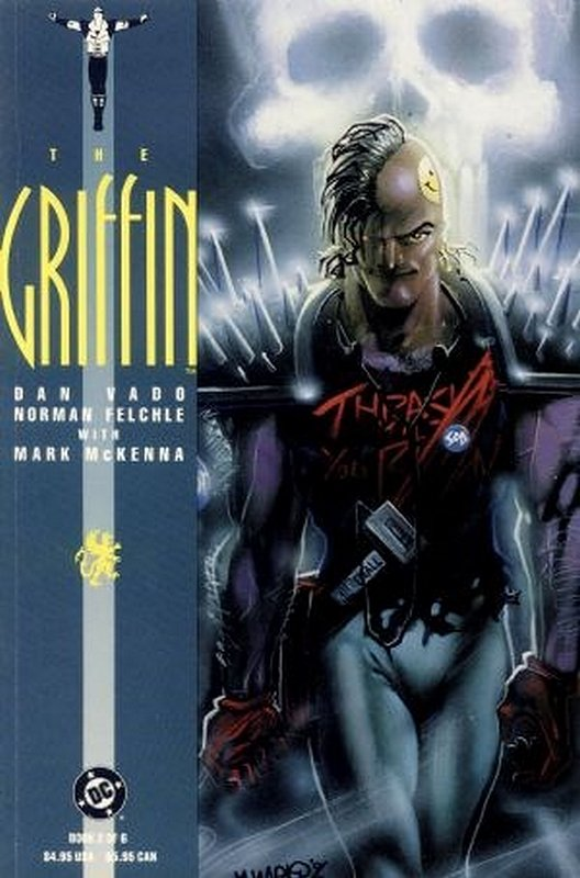 Cover of Griffin (1991 Ltd) The #2. One of 250,000 Vintage American Comics on sale from Krypton!