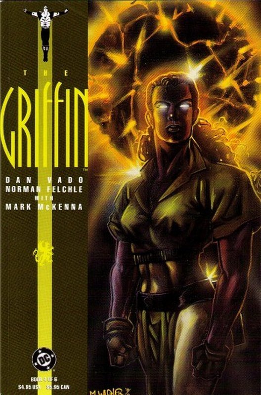 Cover of Griffin (1991 Ltd) The #4. One of 250,000 Vintage American Comics on sale from Krypton!