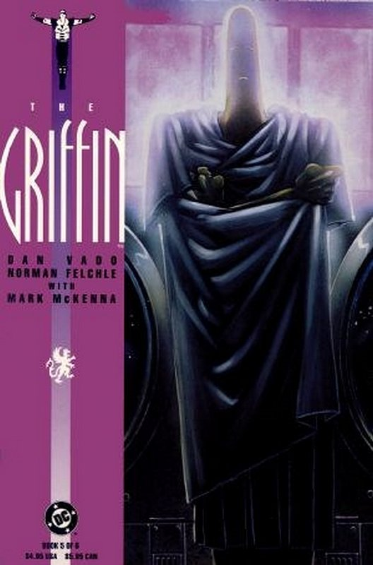 Cover of Griffin (1991 Ltd) The #5. One of 250,000 Vintage American Comics on sale from Krypton!