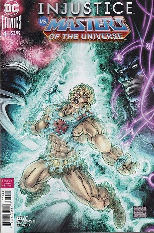 Cover of Injustice vs Masters of Universe (2018 Ltd) #4. One of 250,000 Vintage American Comics on sale from Krypton!