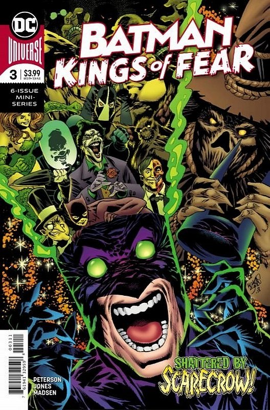 Cover of Batman: Kings of Fear (2018 Ltd) #3. One of 250,000 Vintage American Comics on sale from Krypton!