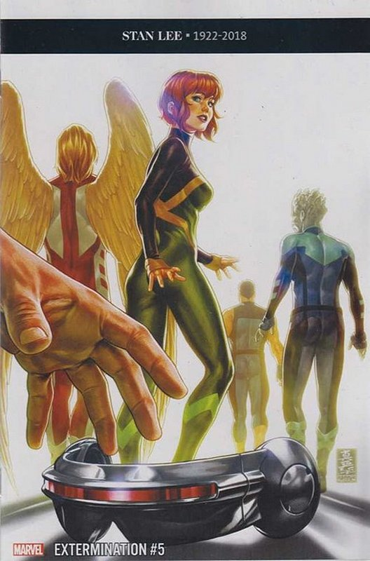 Cover of Extermination (2018 Ltd)) #5. One of 250,000 Vintage American Comics on sale from Krypton!