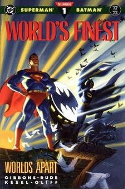 Cover of Worlds Finest: Worlds Apart #1. One of 250,000 Vintage American Comics on sale from Krypton!