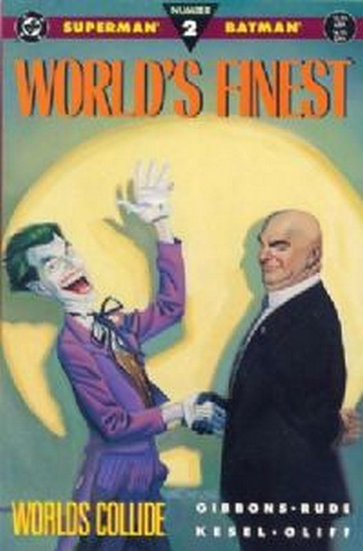 Cover of Worlds Finest: Worlds Apart #2. One of 250,000 Vintage American Comics on sale from Krypton!