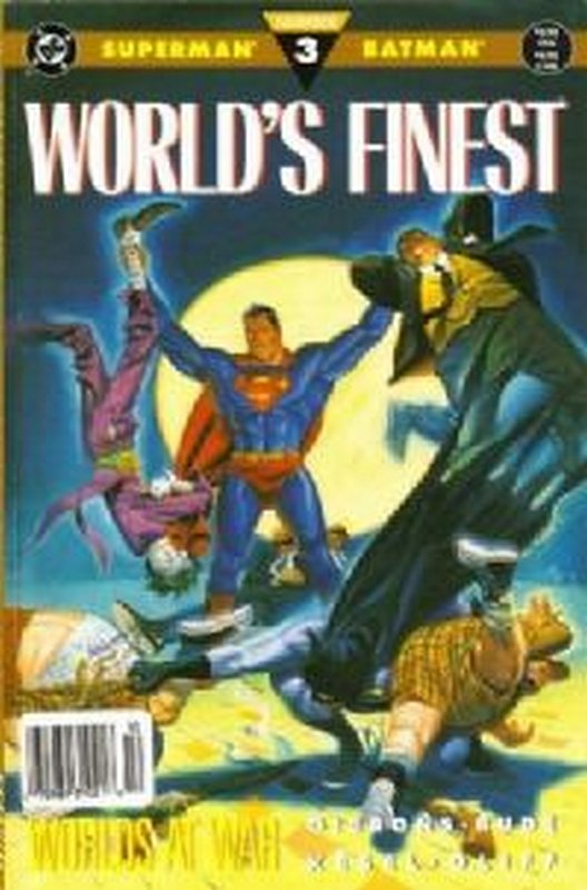 Cover of Worlds Finest: Worlds Apart #3. One of 250,000 Vintage American Comics on sale from Krypton!